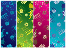 Grunge banners vector. Grunge banners on a isolated background Stock Photo