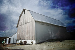 Grunge Barn Royalty Free Stock Image