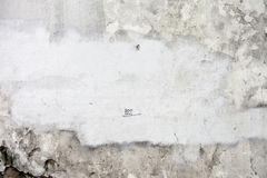 Grunge barstte concrete muur Stock Foto