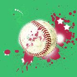 Grunge baseball Stock Photography