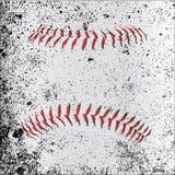Grunge Baseball Stitches Royalty Free Stock Photos