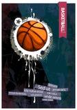 Grunge basketball Royalty Free Stock Photography