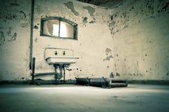 Grunge bathroom Stock Photography