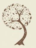 Grunge Baum Stockfoto