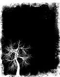Grunge Baum Lizenzfreie Stockfotos