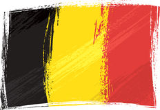 Grunge Belgium flag Royalty Free Stock Photo