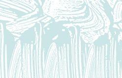 Grunge Beschaffenheit Blaue raue Spur der Bedrängnisses seltsam lizenzfreie abbildung