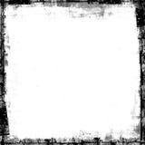 Grunge Beschaffenheit gemaltes Feld-Schablonentestblatt Lizenzfreies Stockfoto