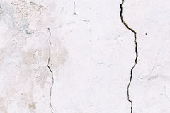 Grunge betonu cementu ściana z pęknięciem Zdjęcie Royalty Free