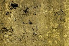 Grunge betonu cementu Ultra żółta tekstura, kamień powierzchnia, rockowy tło Obrazy Stock