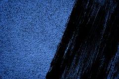 Grunge betonu cementu Ultra błękitna tekstura, kamień powierzchnia, rockowy tło Zdjęcie Stock