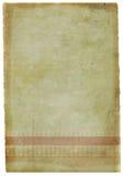 grunge bevlekte brief-voorraad Royalty-vrije Stock Afbeeldingen