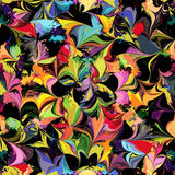 Grunge bevlekte kleurrijk naadloos patroon vector illustratie
