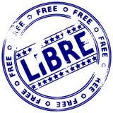 grunge bezpłatny francuski znaczek royalty ilustracja