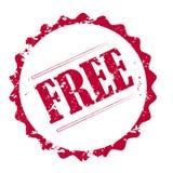grunge bezpłatny znaczek Zdjęcia Royalty Free