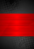Grunge black background with red stripes Royalty Free Stock Photo