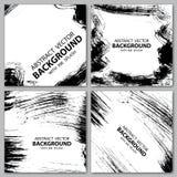 Grunge black backgrounds Stock Images