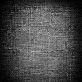 Grunge black canvas Stock Photo