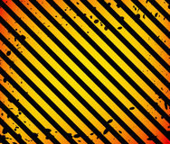 Grunge Black and Orange Surface as Warning or Danger Pattern Old, background royalty free illustration