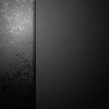 Grunge black paint background Stock Photography