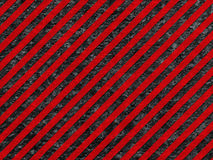 Grunge Black and Red Surface as Warning Pattern Stock Images