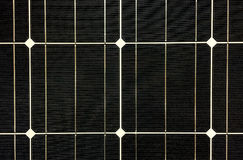 Grunge Black Solar Cell Texture Background Royalty Free Stock Photo