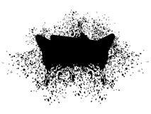 Grunge Black Splatter Stock Photos
