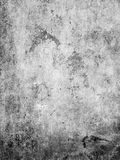 Grunge black wall Stock Photography
