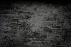 Grunge black wall (urban texture) Royalty Free Stock Photography