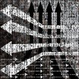 Grunge black and white background Royalty Free Stock Image