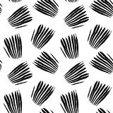 Grunge black and white seamless pattern Royalty Free Stock Photography