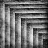 Grunge black and white square background Stock Photography