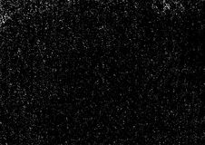 Grunge Black And White Urban Vector Texture overlay. Dark Messy Dust Background. Abstract Dotted, Vintage Grain. Grunge Black And White Urban Vector Texture royalty free illustration