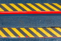 Grunge Black And Yellow Stripes Surface As Warning Or Danger Pat Royalty Free Stock Photo