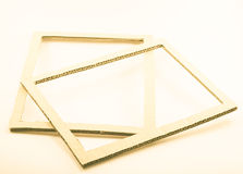 Grunge blank paper frames Royalty Free Stock Images