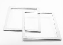 Grunge blank paper frames Stock Photography