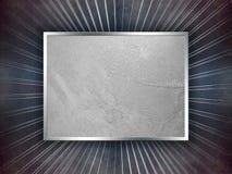 Grunge blauer und silberner Luxuxhintergrund Lizenzfreies Stockbild