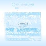 Grunge blauwe texturen Stock Foto