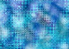 Grunge bleue illustration libre de droits