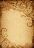 grunge bloemenachtergrond vector illustratie