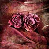Grunge bloemenachtergrond in uitstekende stijl Royalty-vrije Stock Foto's