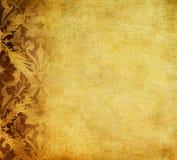 Grunge blom- bakgrund Arkivbilder