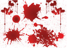 Grunge blood, grunge vector Royalty Free Stock Photo