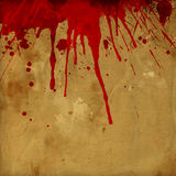 Grunge blood splatter background Royalty Free Stock Photography