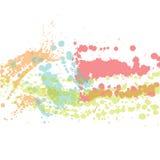 Grunge blots colors Royalty Free Stock Image