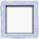 Grunge Blue Border Frame Stock Image