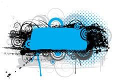Grunge blue design Royalty Free Stock Photos