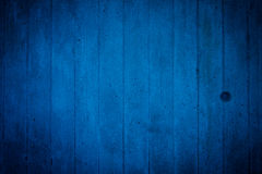 Grunge blue dirty cracked wall Stock Images