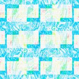 Grunge blue modern art texture background Royalty Free Stock Photography
