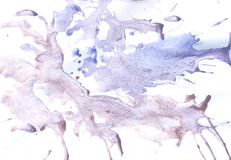 Grunge Blue Painted Background Royalty Free Stock Photography